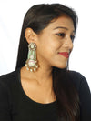 Mint Manan Designer Earrings