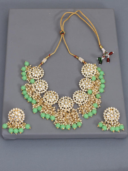 Mint Vanu Necklace Set