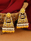 Mustard Ela Designer Earrings