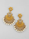 Mustard Jalsa Designer Earrings