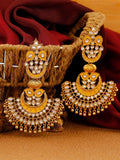 Mustard Rania Chaandbali Earrings