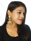 Mustard Pankaj Designer Earrings