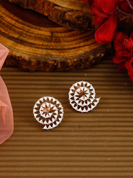 Brown Boond Designer Earrings
