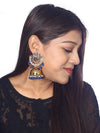 Navy Tez Designer Earrings