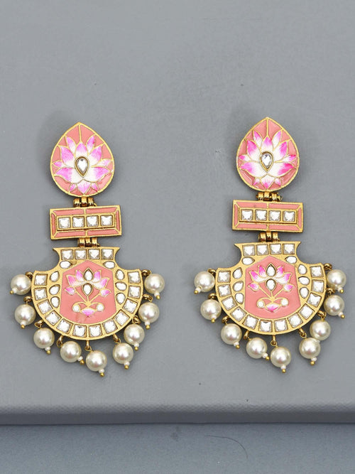 Pastel Pankaj Designer Earrings