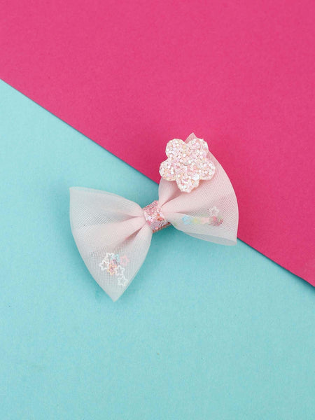 Pink Star Hair Pin