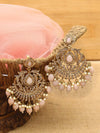 Peach Krisha Designer Earrings
