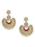 Red Chakra Designer Earrings