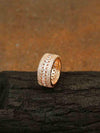 Rose Gold Demi Zirconia Ring