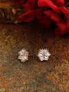 Rose Gold Estel Zirconia Studs