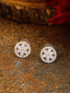 Rose Gold Etha Zirconia Studs