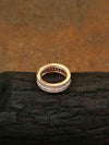 Rose Gold Genn Zirconia Ring