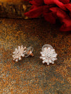Rose Gold Jolie Zirconia Studs