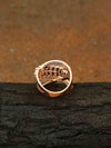 Rose Gold  Linda Zirconia Ring
