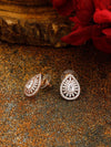 Rose Gold Rikki Zirconia Studs