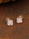 Rose Gold Sana Zirconia Studs
