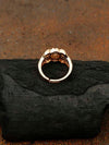 Rose Gold Sapna Zirconia Ring