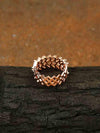 Rose Gold Vedika Zirconia Ring