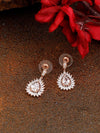 Rose Gold Yukta Zirconia Dangler
