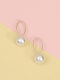 Rose Aria Pearl Earrings