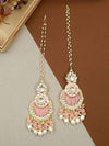 Rose pink Nitya Sahara Earrings