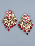 Ruby Chakrika Designer Earrings