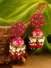 Ruby Daliha Jhumki Earrings