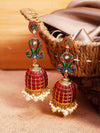 Ruby Mayank Designer Earrings