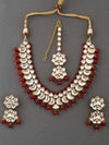 Ruby Sneha Necklace Set