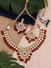 Ruby Mrinmayi Zulree Necklace Set
