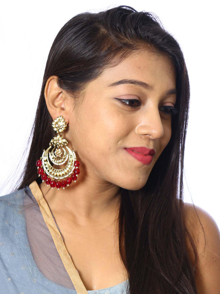 Ruby Mumtaz Designer Earrings