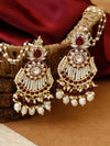 Ruby Nitya Designer Earrings