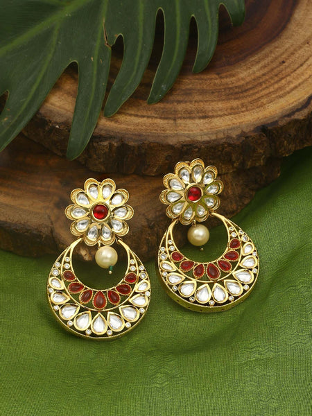 Emerald Barkha Zulree Earrings