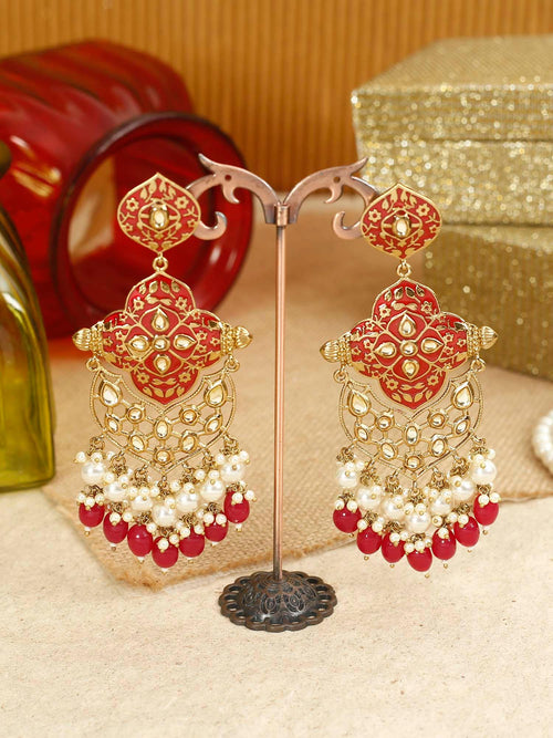 Ruby Tanya Designer Earrings