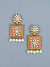 Rusty Kalavati Designer Earrings