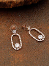 Rose Gold Jinal Zirconia Dangler