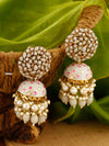 Smoke Daliha Jhumki Earrings