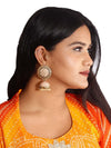 Tangerin Suraj Jhumki Earrings