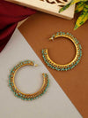 Torquoise Ira Hoop Earrings