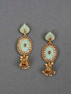 Turquoise Noor Jhumki Earrings