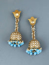 Sky Blue Rajkumari Earrings
