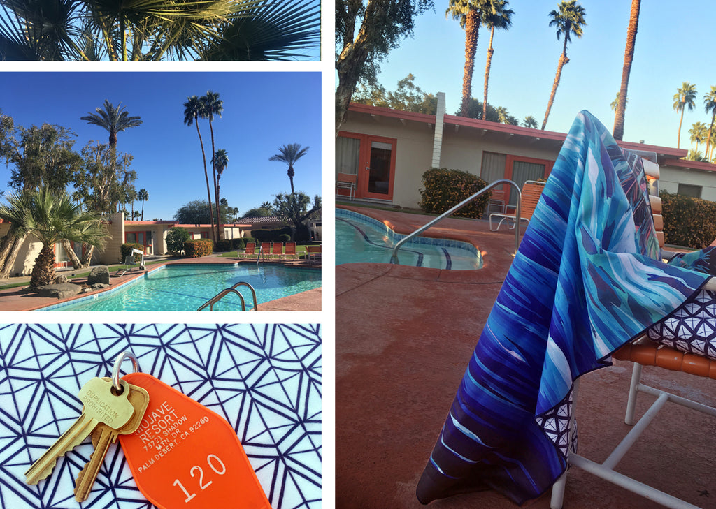 Palm Springs Surfer Towel