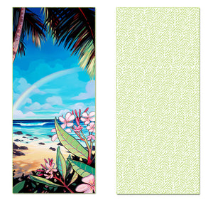 Be stylish and comfortable with the Surf Saturday Surf Towel! Perfect for the beach, super soft, and easy to clean!
