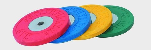 Weightlifting Olympic rubber plate