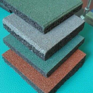 Rubber Flooring (Black, Red, Green, Grey, Blue Color)