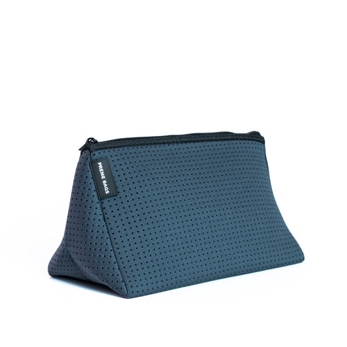 COSMETIC BAG (CHARCOAL) NEOPRENE BAG