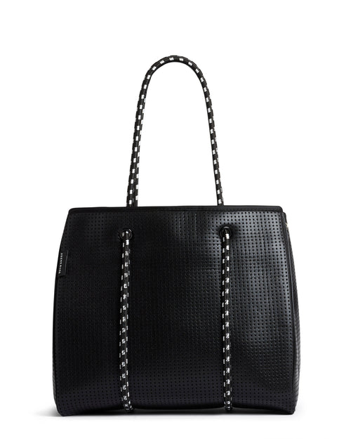 THE FREDDIE BAG (METALLIC BLACK)