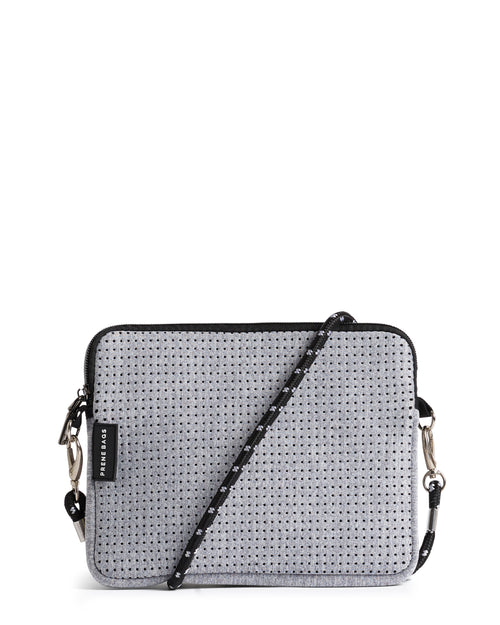 THE PIXIE BAG (LIGHT GREY MARLE)