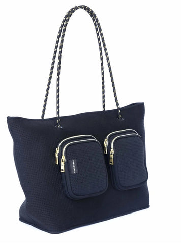 **PRE-ORDER** THE GIGI BAG (BLACK/BEIGE)