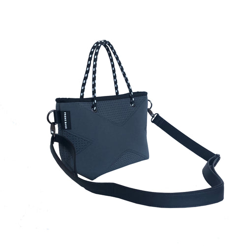 THE XXS CROSSBODY / TOTE BAG CHARCOAL
